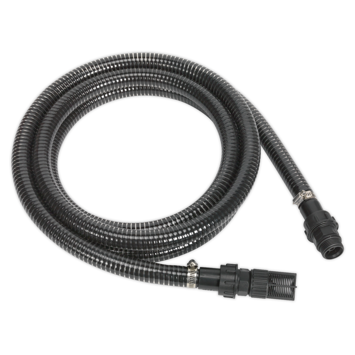 Solid Wall Suction Hose for WPS060 - 25mm x 4m Sealey WPS060HS by Sealey