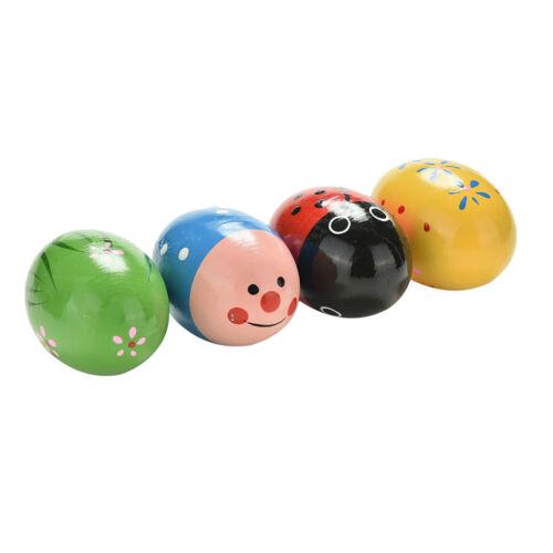 Holz Sand Eier Kinder Kinder Baby Lerninstrumente Musical Spielzeug CVTYDE