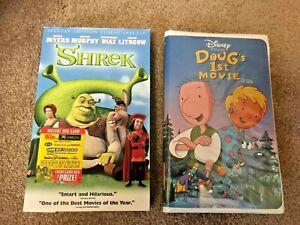 Disney Dougs 1st Movie Shrek Two Fun Filled Children S Movies 2 Vhs 786936088298 Ebay