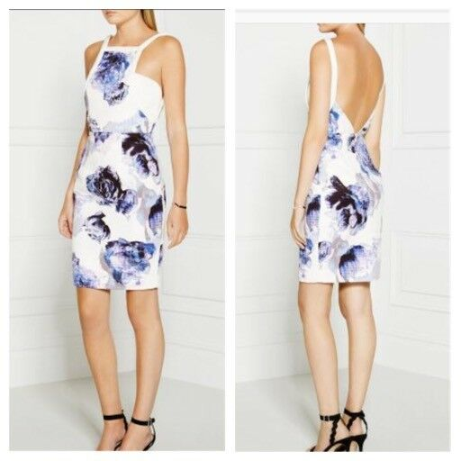 Finders Keepers Floral Spaghetti Strap Dress Sold Out Size S NWOT