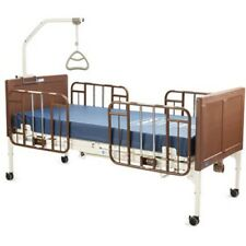 Invacare Electric Hospital Bed Set With Mattress And Rails G50