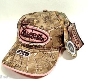 ec4c4ecac63 Ladies Womans BUCK COMMANDER Realtree Xtra   AP Pink Camo Cap Hat ...