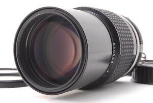 """ Near Mint "" NIKON Ai NIKKOR 200mm f4 MF F Mount Telephoto Lens from Japan"