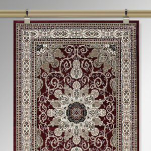 Details About Victorian Traditional Moulding Picture Rail Carpet Tapestry Rug Wall Hanging Kit
