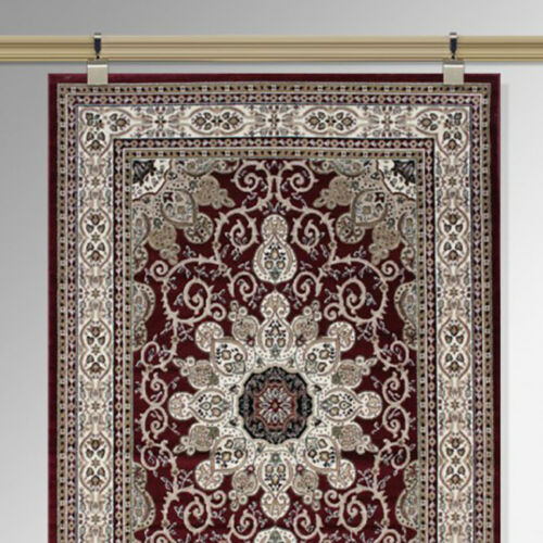 Victorian Traditional Moulding picture rail carpet tapestry rug Wall hanging kit
