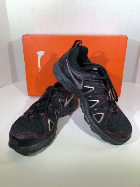 9f89d9e5702 Nike Air Alvord 10 Women s Size 8.5 Wide Black Athletic Sneakers Shoes  F3-165