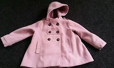 Next girls pink coat Age 4-5