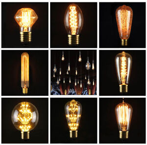 E27-3W-40W-220V-Lampe-Edison-Industrielle-Vintage-Retro-Filament-Ampoule