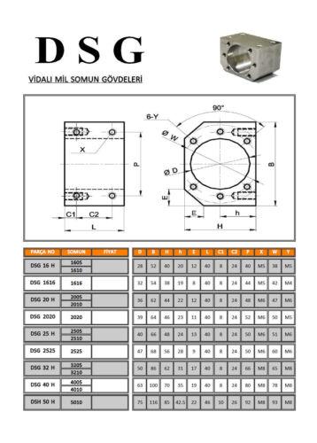 HGR25-1500mm Hiwin Linear rail /& HGH25CA /&RM2510-1500mm Ballscrew/&BF20//BK20 Kit