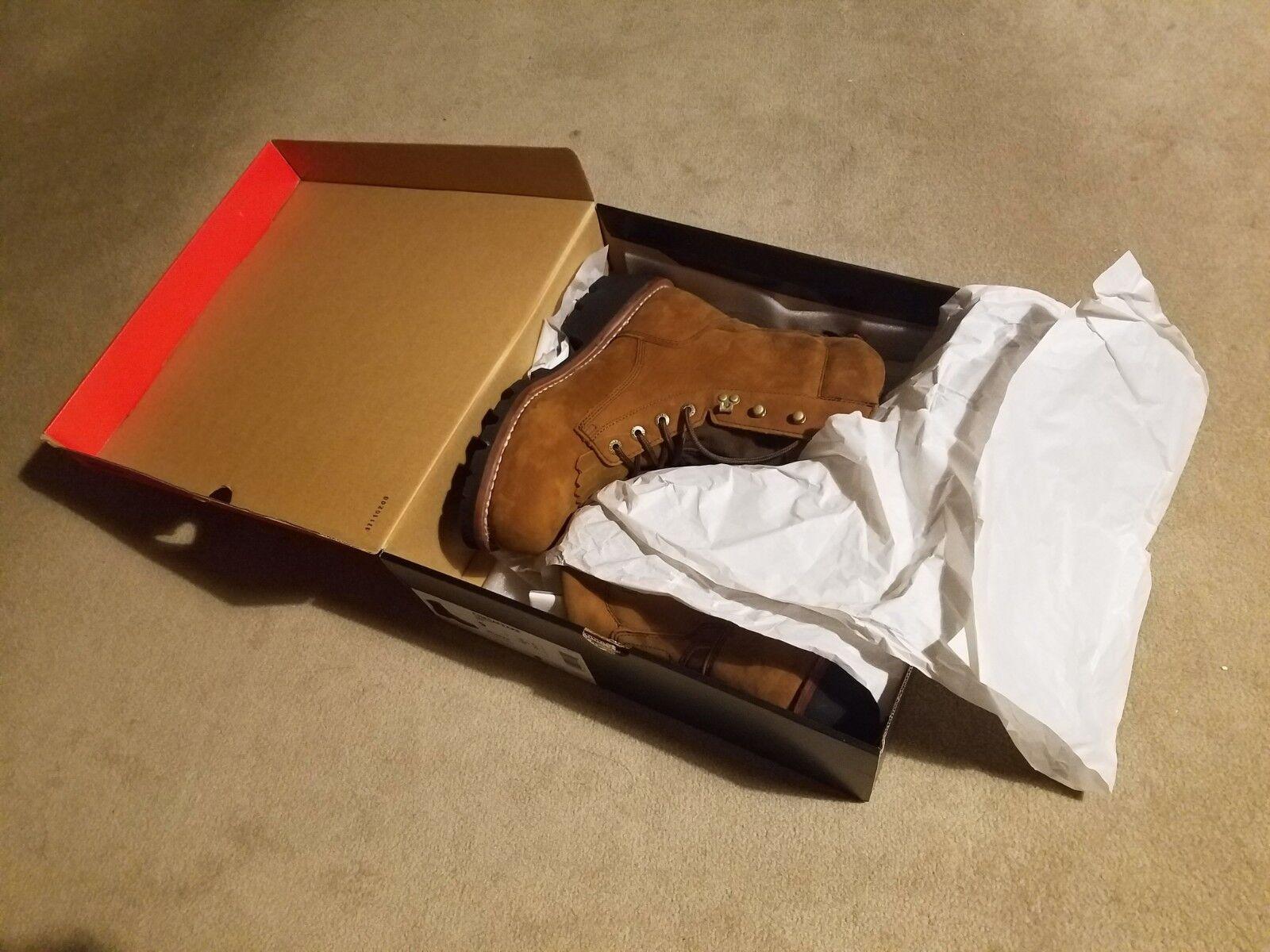 Wolverine Waterproof Steel Toe Men's Chesapeake Work Boots 9 Extra Wide W05523