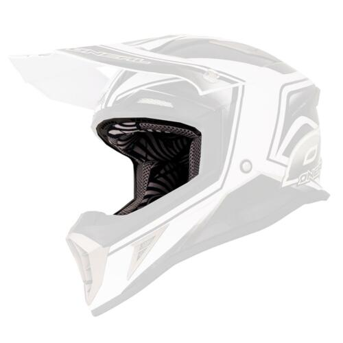 O /'Neal Intérieur Doublure /& joues Coussin 10 Series Casque MX Motocross Liner Cheek Pad