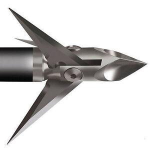 6pcs-100grain-3-Blade-Arrowhead-Broadhead-Tips-Points-Arrow-Bow-Hunting-Shooting