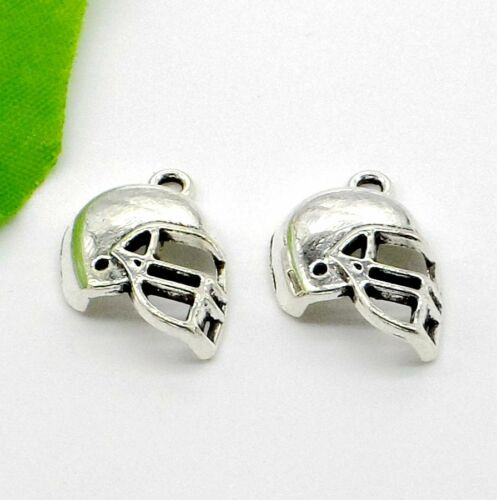 Free Ship 30Pcs Tibetan Silver helmet Charms Pendant Fit Jewelry Making 20x15mm