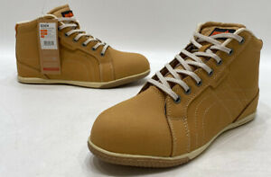 Scruffs-Eden-Womens-Tan-Nubuck-Lace-Up-Safety-Work-Boots-Size-9-NWOB