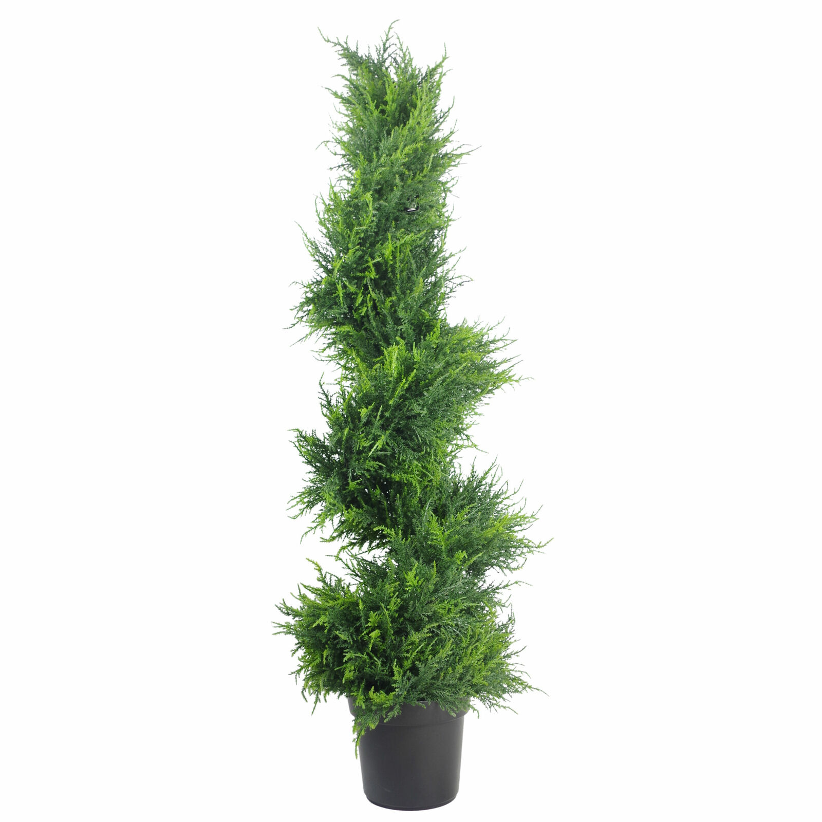 120cm Premium Artificial Spiral Cypress with pot LEAF-7282