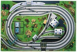 Gauge gt railtracks gt see more hornby 00 gauge 6 x 4 layout template