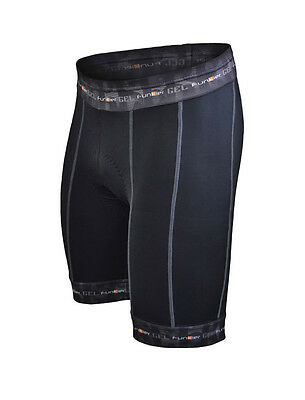 Funkier 14 Panel Active Gel Lycra Cycling / Bike Shorts - S-255-D8