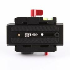 Connect Adapter Mount w/ Quick Release Plate for Manfrotto 577 Tripod Head DSLR