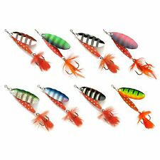 All Colours /& Sizes Abu Garcia Classic Reflex Red Spinner Lures