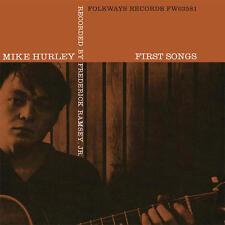 Michael Hurley - First Songs LP REISSUE NEW FOLKWAYS Greenwich Village