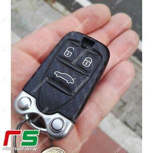 Alfa-Romeo-159-ADESIVI-sticker-decal-cover-tuning-chiave-accensione-carbon-look