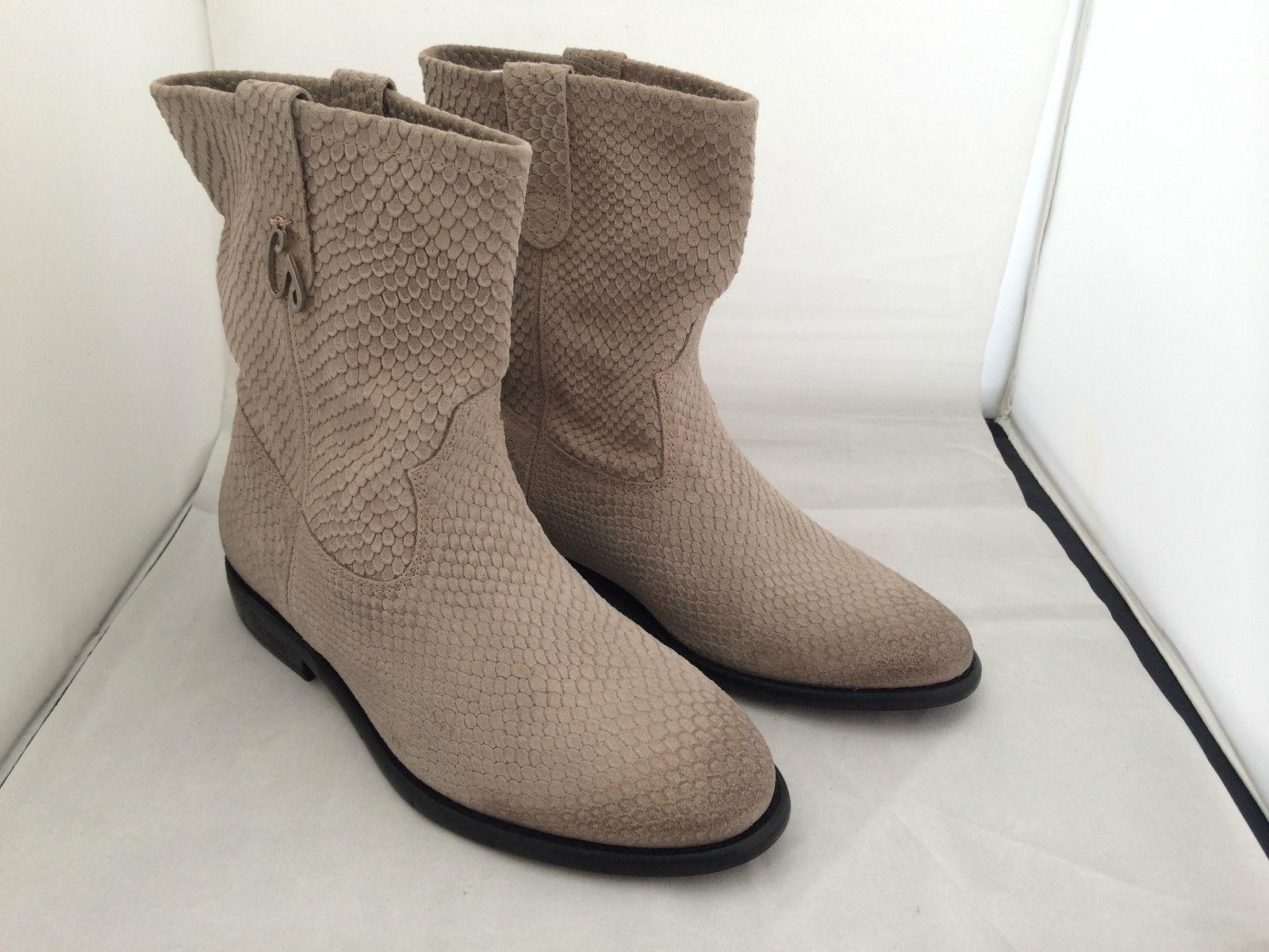 Neu      Aussergewöhnliche Stiefel von GUESS, sand ,Echtleder, Größe 40, NEU 04510f