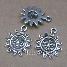 20pc Tibetan Silver Charms Sunflower Pendant Beads Jewellery Making  PL428