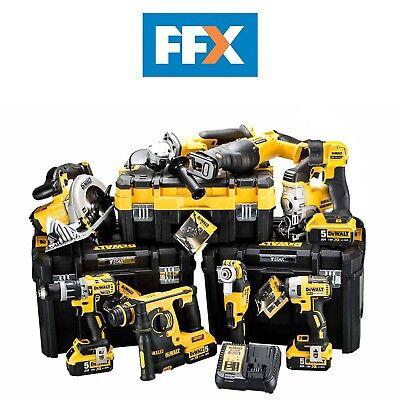 DeWalt DCKFFX9AP4 18v 4x5.0Ah XR Li-ion 9pc T-Stak Kit