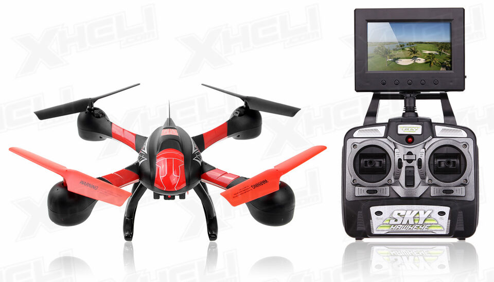 SKY Hawkeye 1315S 5.8G 4Ch HD Camera RC Quadcopter Drone FPV Real Time +4GB CARD