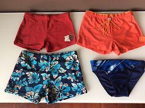 Costumi Da Bagno Per Bambino : Stock 4 costumi da bagno bambino taglia 10 12 anni 3 boxer 1slip ebay