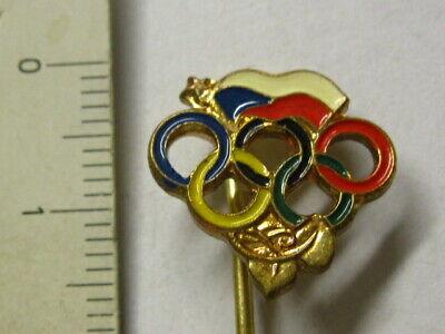 100% Wahr Anstecknadel Olympiade - Tschechoslowakei Hohe Belastbarkeit