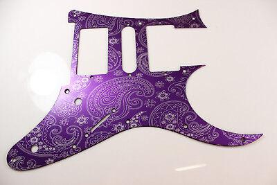 RG550 Jem RG  HSH tm Purple Paisley Anodized Aluminum pickguard fits Ibanez