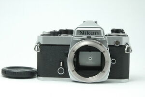 [Exc Nikon FE SLR Film Camera Body Only Silver from JAPAN F37