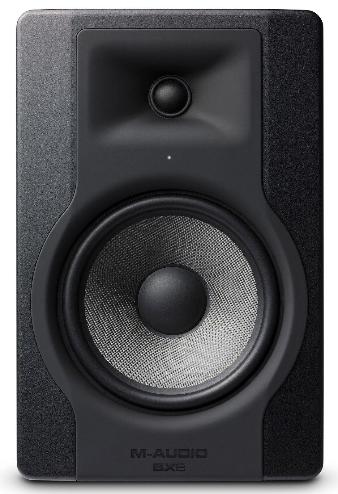 NEW MAudio BX8 D3 Studio Reference Powerot Monitor Single Speaker 150 WATTS