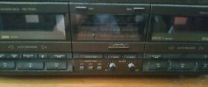 Technics double cassette deck - Beccles, United Kingdom - Technics double cassette deck - Beccles, United Kingdom
