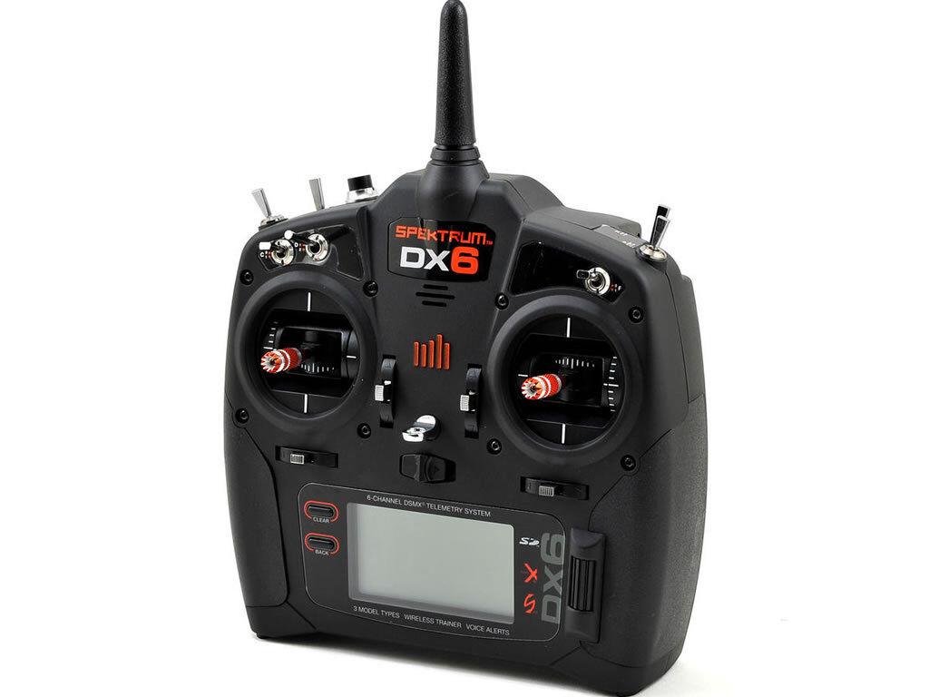 Trasmettitore SPEKTRUM DX6 modalità solo 2 EU