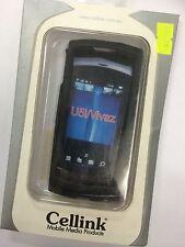 Sony Ericsson Vivaz U5a,U5i Kurara Back Plastic Case in Fantasy Black BPC654-112