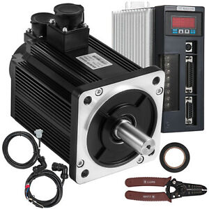 CNC-Servo-Motor-2KW-7-7NM-AC-Servo-Driver-Kit-220V-f-CNC-Mill-Machine-VEVOR