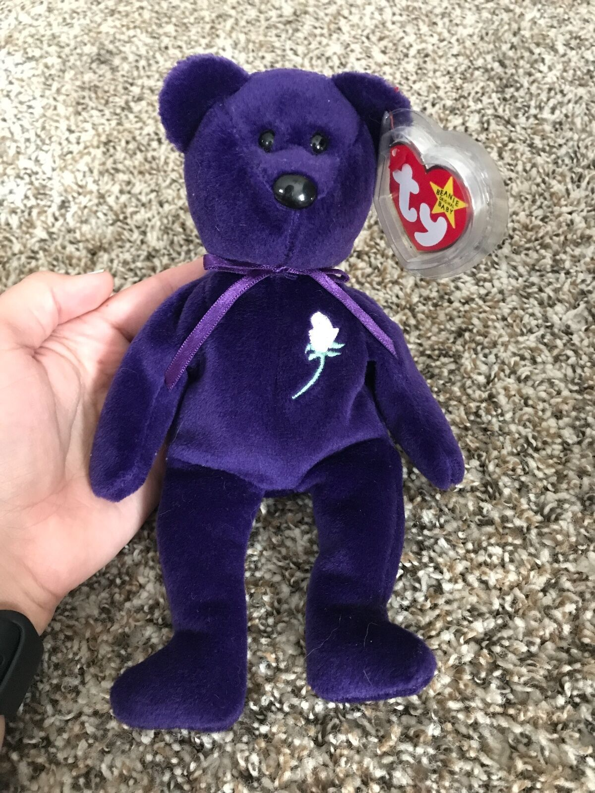 Princess Diana very rare original Ty beanie baby from 1997. Mint condition.