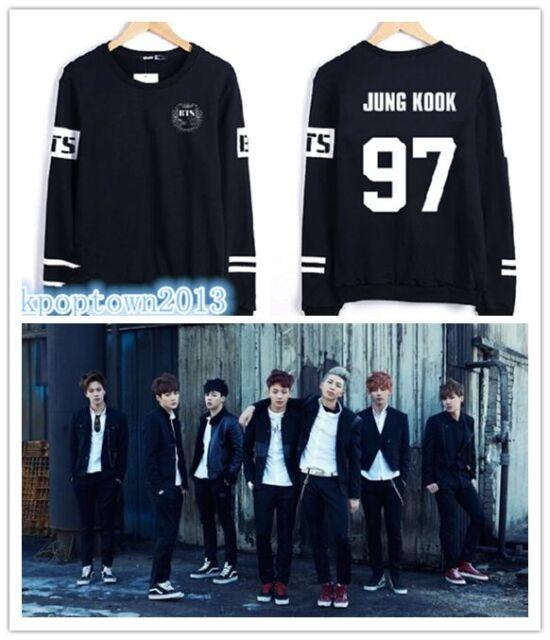 Junk Kook Jin V Suga Jhope Rap Kpop BTS Bangtan Boys New Sweater Shirt Hoodie