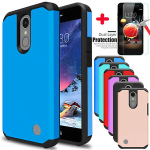For-LG-Phoenix-4-Rebel-4-Fortune-2-Zone-4-Case-Shockproof-With-Screen-Protector