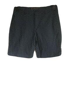 Ben-Sherman-Boys-Navy-Blue-Cotton-Bermuda-Shorts-Age-12-13-C131