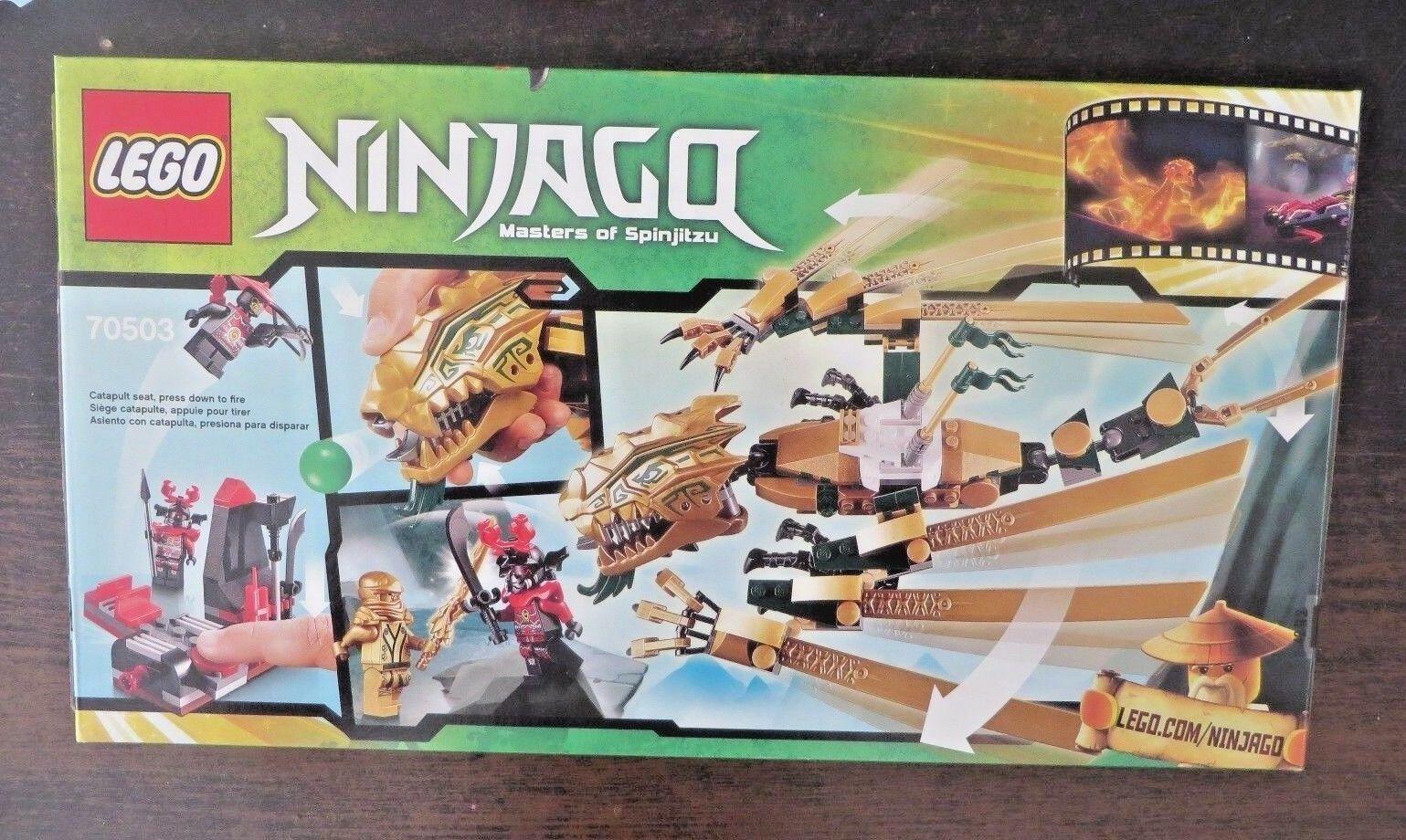 Lego 70503 - Ninjago Ninjago Ninjago - The golden Dragon -  Retired - NISB 4a005f