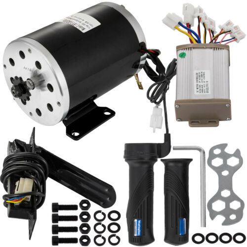 Scooters 36V 800W Brushed Motor Speed Controller Throttle Grips ...