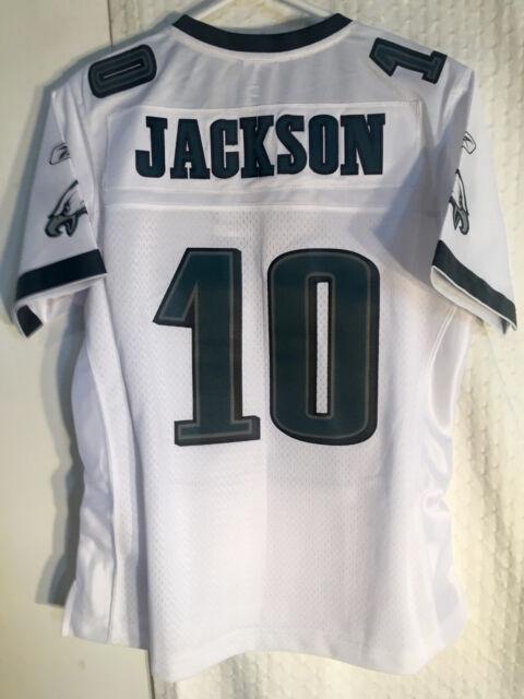 5a1f9404 Reebok Women's Premier NFL Jersey Philadelphia Eagles Desean Jackson White  sz L