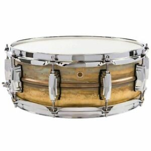 Ludwig-LB454R-Raw-Brass-Phonic-Snare-Drum-5-034-x-14-034