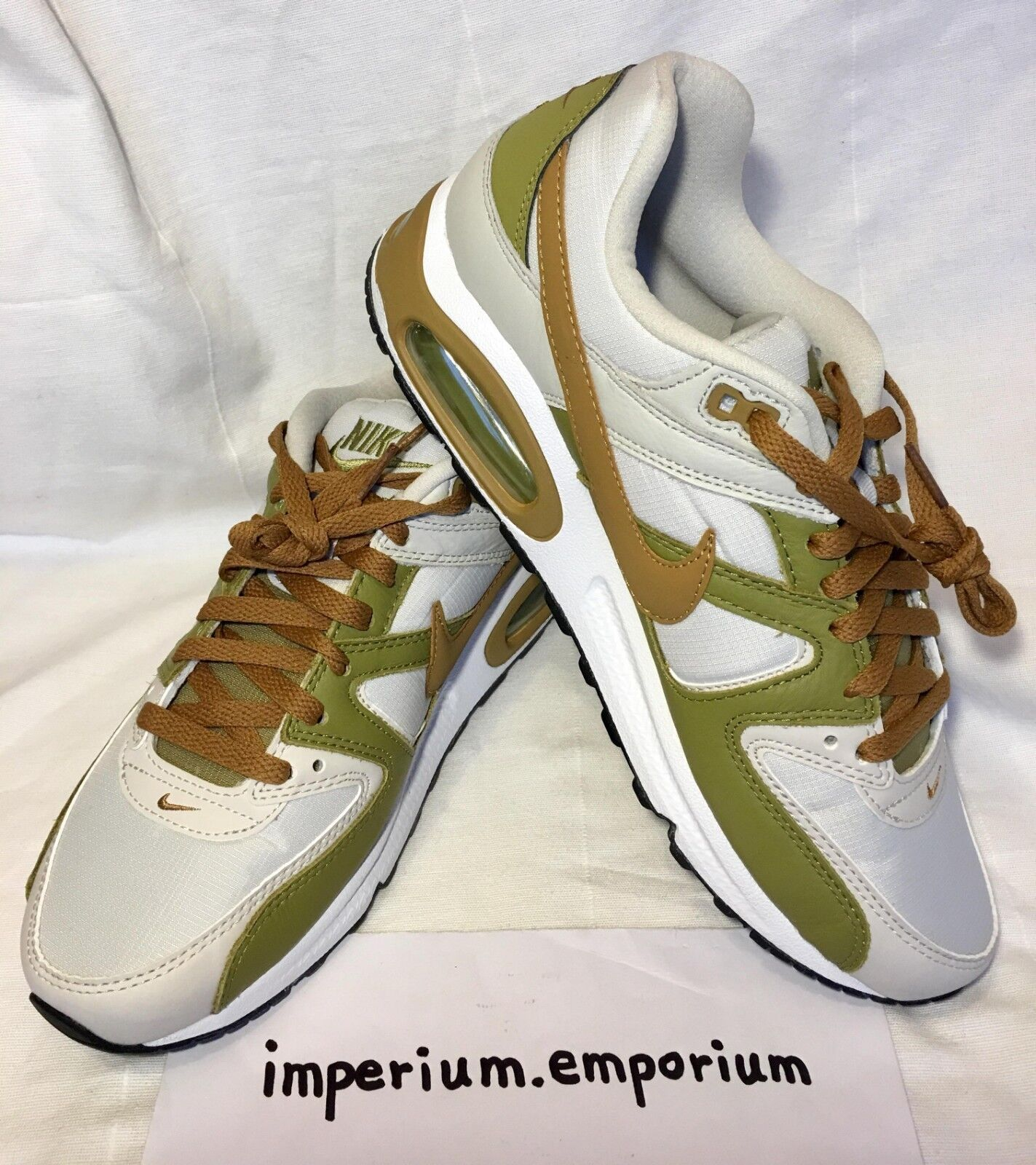 Men's Nike Air Max Command Trainers Sneakers shoes Light Bone Muted Bronze