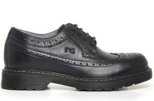 NERO-GIARDINI-Teen-A734450M-scarpe-bambino-ragazzo-uomo-francesine-inglesine