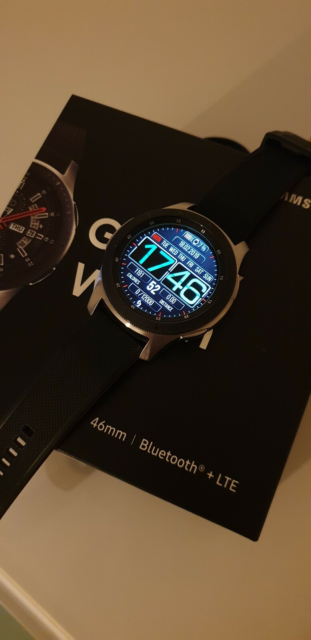 Smartwatch, Samsung, Galaxy watch 46mm Bluetooth+LTE model.…