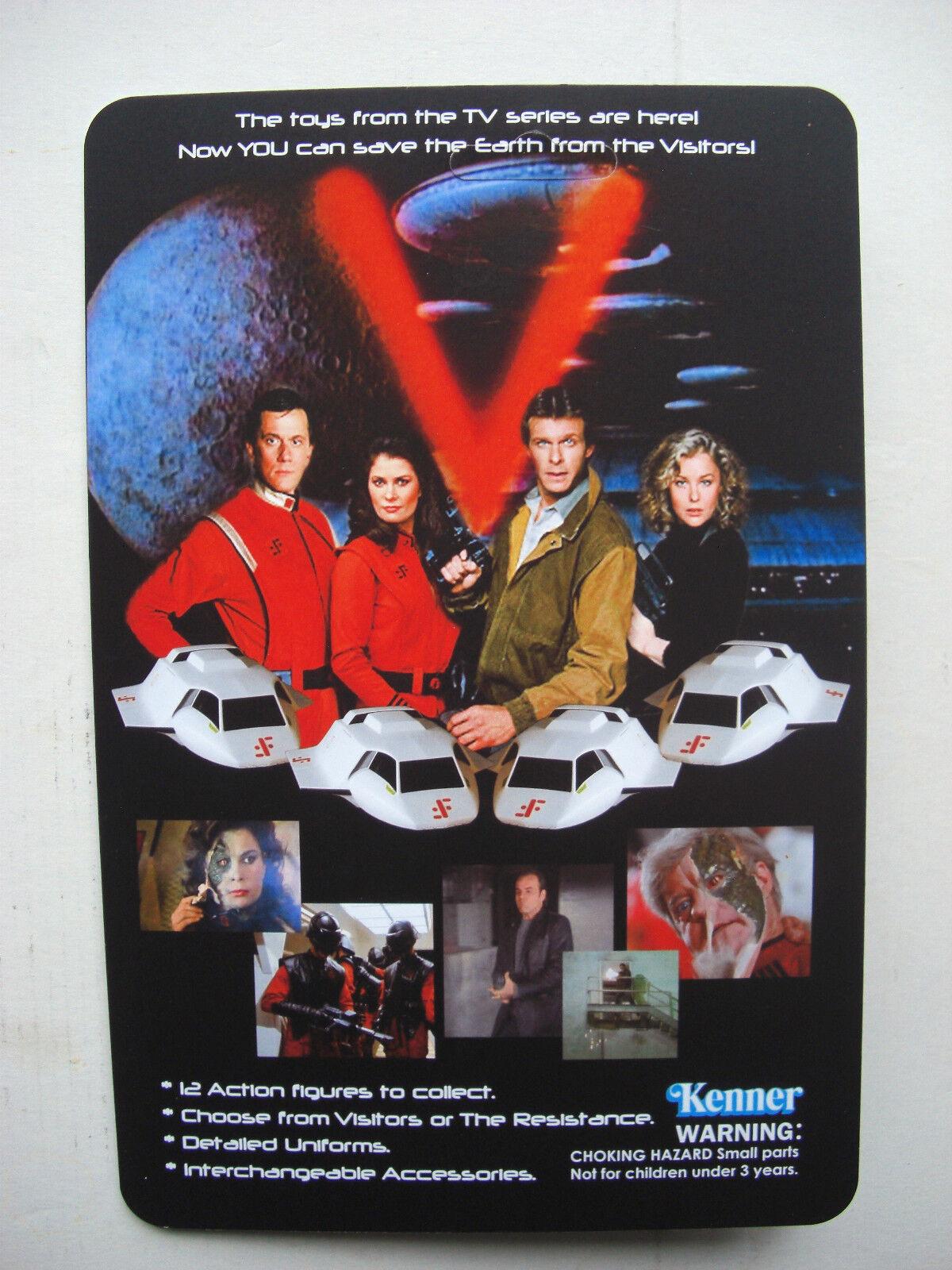 VISITOR MARTIN MARTIN MARTIN CUSTOM FIGURE MOC V 'Visitor' Vintage Sci-fi TV SHOW 0bc133